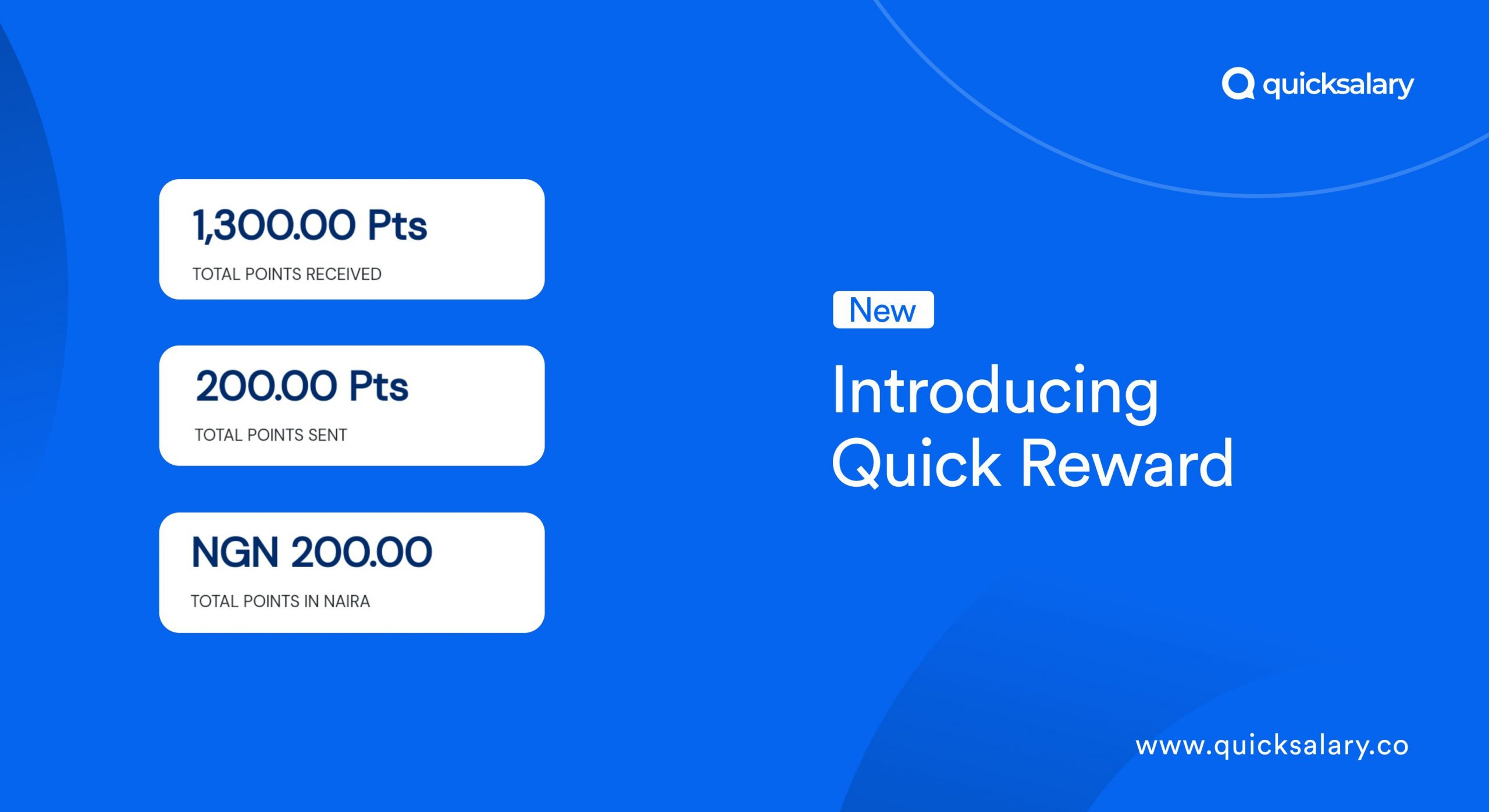 Introducing Quick Reward